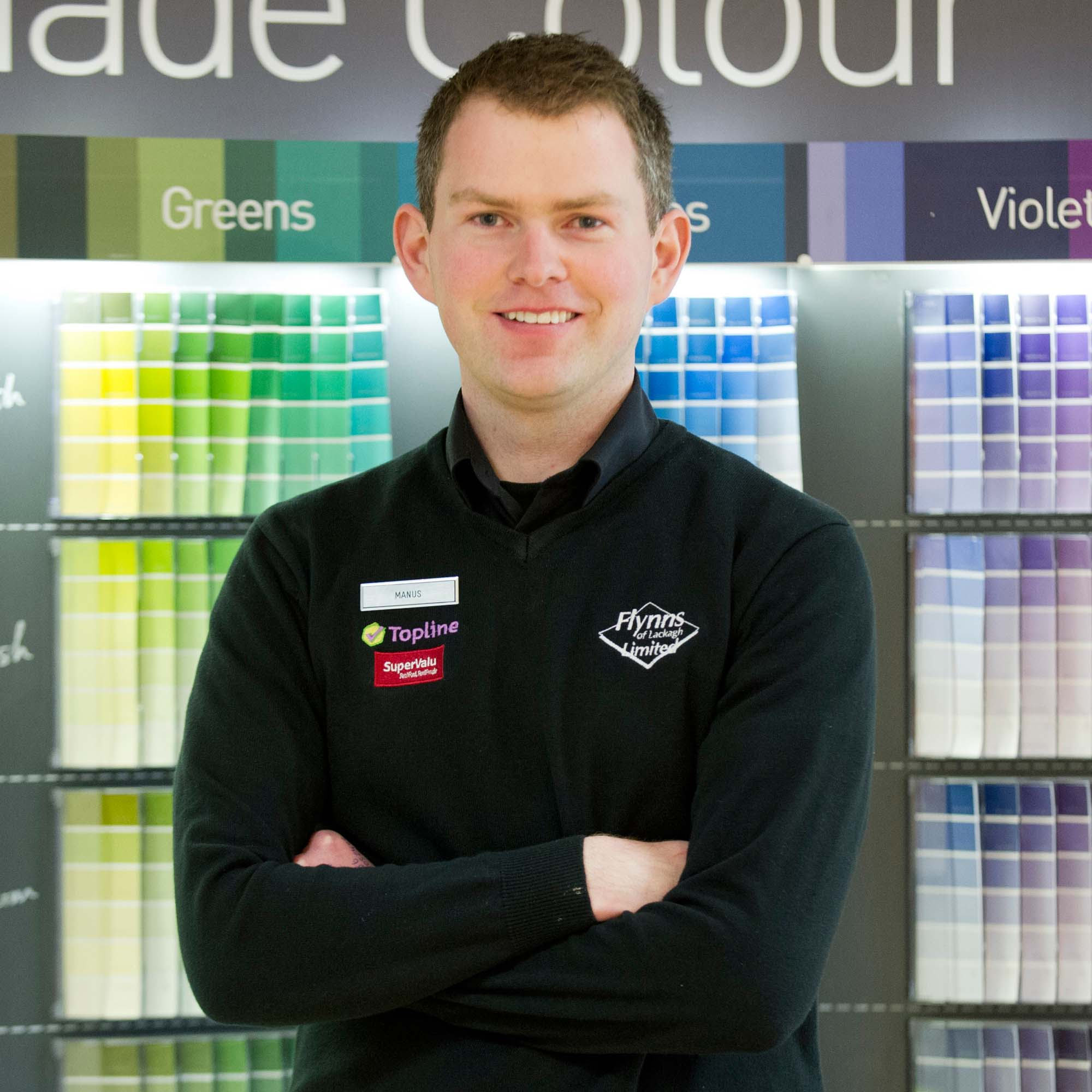 Head of Paint Dept - Manus Finnerty