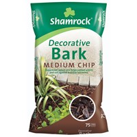 Bord na Móna Shamrock Shamrock Decorative Bark Medium Chip - 75 Litre