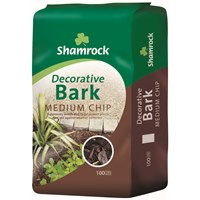 Shamrock  Decorative Bark Medium Chip - 100 Litres