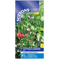 Suttons  Cottage garden Mixture Flower Seeds