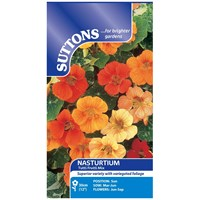 Suttons  Nasturtium Tutti Fruiti Mix Flower Seeds