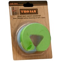 Trojan  Safety Doorstop - 2 Pack