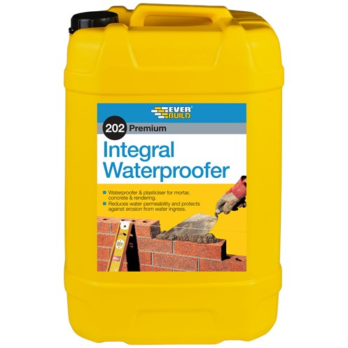 Everbuild  203 Integral Waterproofer - 25 Litre