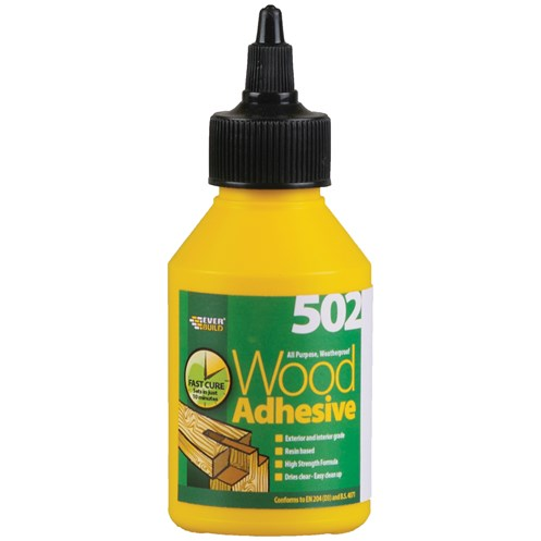Everbuild  All Purpose Wood Adhesive Bottle - 125ml