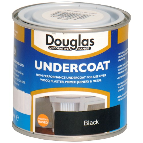 Douglas Decorative Range Undercoat Black - 250ml