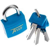 Tessi  Body Padlock Assorted Colours - 30mm