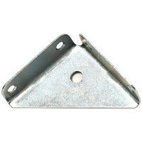 Phoenix  Zinc Plated Corner Bracket 2in - 4 Pack