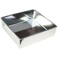 Steelex  Square Cake Tin - 10in